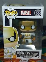 Marvel Iron Fist (Gold) #188 Pop Vinyl Bobble-Head Figure Funko Aus Seller