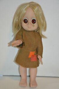 "Vintage 1965 ""Little Miss No Name"" Doll. Original Dress & Undies, Teardrop*"