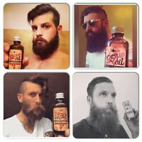 BOBOS BEARD COMPANY BEARD OIL MADE WITH THE FINEST COLD PRESSED ARGAN OIL