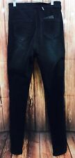 Misguided Womens Pants Charcoal Gray Stretch Size 12