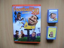 Footballfan Simulacija-Empty album + full set 240/240 Caricatures Euro 2016