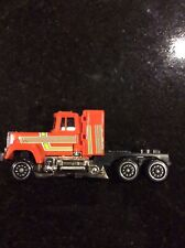 Vintage 1984 Bandai Japan Gobots Transformers Staks Semi Truck Orange VGC
