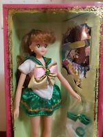 Excellent Sailor Moon Team Doll Sailor Jupiter Bandai New in Box From Japan