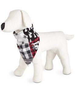 Matching Family Pajamas Pet Cabin Patchwork Dog Bandana - L/XL #6965