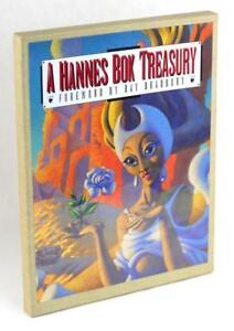 Ray Bradbury Signed 1993 A Hannes Bok Treasury Stephen Korshak Lettered Edition