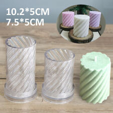 Plastic Candle Molds Diy Craft Handmade Aromatherapy Candle Soap Making Mold Us
