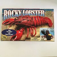 ROCKY THE SINGING LOBSTER 2000 GEMMY INDUSTRIES 2000  BATTERY OPERATED