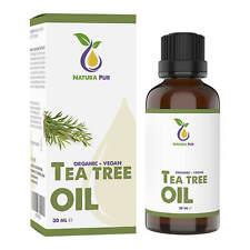 Teebaumöl BIO 30ml - 100% naturreines ätherisches Öl, gegen Pickel und Fußpilz