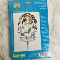 Gary Patterson Cross Stitch Kit Cat on Birdcage The Siesta 095-0109 Complete