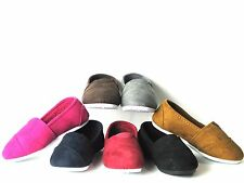 SlipOn Flats For Baby Toddler Girls Or Boys Faux Suede Fully Lined Winter Shoes