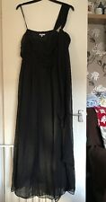 BNWT Ladies New Look Black Full Length Dress. Size 18