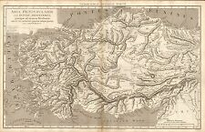1807 ANTIQUE MAP-REES ANCIENT GEOGRAPHY-ASIA PENINSULARIS, MACPHERSON