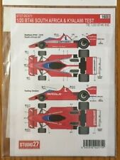 Studio 27  1/20  Brabham BT46 South Africa & Kyalami Test  DC571