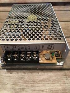 2 Netzteile,Schaltnetzteile,S-60-24,In:100-240 VAC,Output 24 VDC,Trafo,Netzgerät
