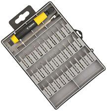 Bitset 32-teilig Schraubendreher für Feinmechaniker PH PZ TX H Schlitz 39D555