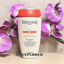 KERASTASE NUTRITIVE BAIN SATIN 2, 250ml or 8.5oz, NEW SEALED!!! FAST SHIPPING!!!