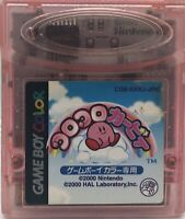 Nintendo GameBoy Color Koro Koro Kirby Tilt 'n' Tumble Japan US Seller