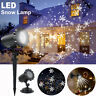 Christmas Laser Projector Light Snow Outdoor Garden Lawn Stage Landscape Lamp
