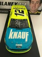 BRAND NEW 2019 * AUTOGRAPHED * #12 RYAN BLANEY * KNAUF INSULATION * 1 of only 60