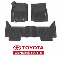 2016-2017 Toyota Tacoma Automatic Double Cab All Weather Floor Mats