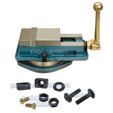 3'' Accu Lock Precision Vise w/ Swivel Base Milling Drilling Machine Bench Clamp