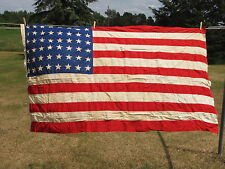 VINTAGE UNITED STATES OF AMERICA FLAG 48 STAR 4X6 EVERWEAR BUNTING