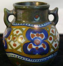 Holland art vase mid century modern numbered