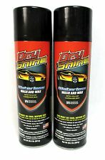 Lot of 2 Dry Shine Car Truck Waterless Wash and Wax Detailer Auto Protectant B19