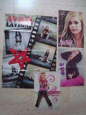 4 fantastic Avril Lavigne magazine poster centerfold Lot