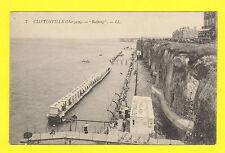 CLIFTONVILLE,  KENT - LOUIS LEVY POSTCARD NO. 7 -  BATHING  -  C 1905