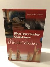 What Every Teacher Should Know The 10 Book Collection Donna Walker Tileston box