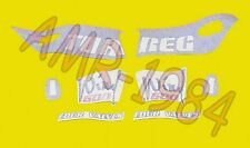 SERIE ADESIVI DECALCO APRILIA TUAREG WIND 600 1988  AP811906