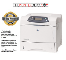 HP LaserJet 4350N Fully Remanufactured Printer MPS/Service Ready Q5407A ~LOOK~