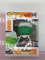 Funko Pop Piccolo NYCC 2019 Dragon Ball Z #670 Shared Sticker BOX WEAR N02