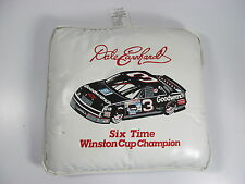 Vintage Sports Image NASCAR Dale Earnhardt #3 White Stadium Seat Cushion