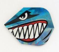 """Harrows Holographic Dart Flights """"Evil Shark"""""""