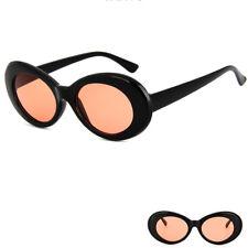 Retro Clout Goggles Unisex Sunglasses Rapper Oval Shades Grunge Frames Glasses