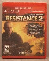 Resistance 2 (Sony Playstation 3 2008) Y-Fold Sealed Brand NEW