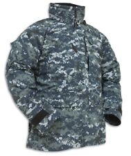 US Navy USN NWU Goretex Parka Army Blue Berry Digital Veste Mr Medium Regular