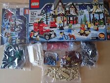 LEGO Seasonal Winter Village Post Office (10222) 100% complete