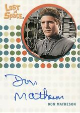 The Complete Lost in Space Don Matheson as Rethso Auto Card