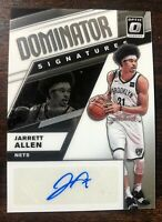 2019-20 Donruss Optic Jarrett Allen Dominator Signature Auto Card #/49