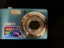 Sanyo VPC-E1500TP 14.0MP Digital Camera - Blue