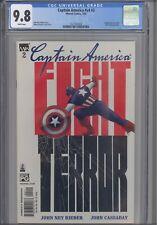 Captain America V4 #2 CGC 9.8 2002 Marvel: 519 Call of Duty Preview: New Frame