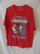 2013 Chicago Blackhawks Stanley Cup Champions T-Shirt w/ masked Indian