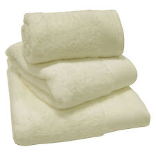 Luxury 100 Egyptian 600gsm Cotton Thick Heavyweight Combed Towels or Mats Cream Bath Sheet