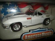 1:18 Ertl American Muscle Chevrolet Corvette L-88 1967 white/weiss in OVP