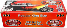 3x Boxes ( Hot Rod Red Full Flavor King Size ) Cigarette Tube RYO - 200 Per Box