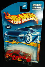 Hot Wheels 2000 #034 Kung Fu Force Series #1 of 4 '99 Mustang Red 3SPs ERROR