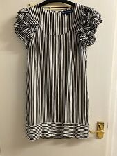 French Connection Black And White Dress Size 10